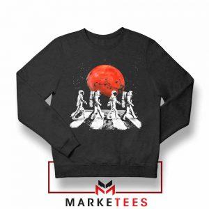 Astronaut Abbey Road Parody Sweatshirt