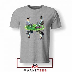 Breaking Bad Rick Morty Jesse Sport Grey Tshirt