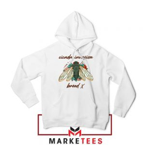 Brood X Cicada Invasion USA 2021 Hoodie