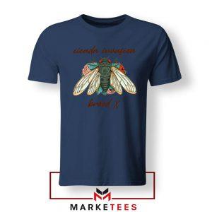 Brood X Cicada Invasion USA 2021 Navy Blue Tshirt