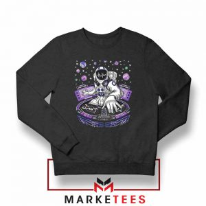 Buy Funny Astronaut DJ Sweatshirt