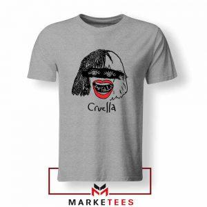 Cruella Look Fabulous Girls Sport Grey Tshirt