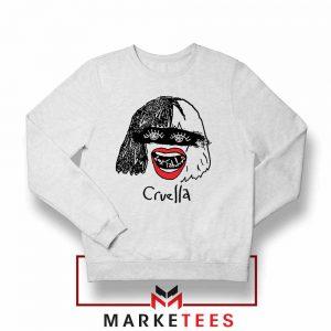 Cruella Look Fabulous Girls Sweatshirt