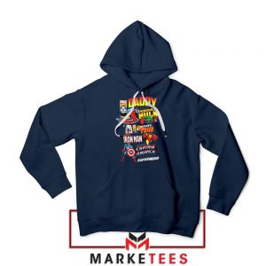 Daddy You Are Incredible Hero Navy Blue Hoodie