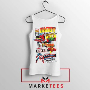 Daddy You Are Incredible Hero Tank Top