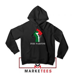 Free Palestine Rise Your Hand Hoodie