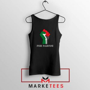 Free Palestine Rise Your Hand Tank Top