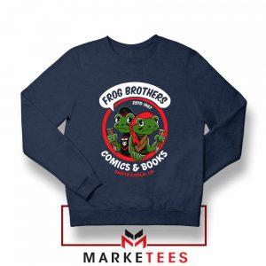 Frog Brothers Lost Boys Navy Blue Sweatshirt