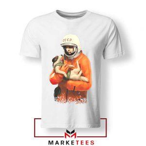 Russian Astronauts Dog Tshirt