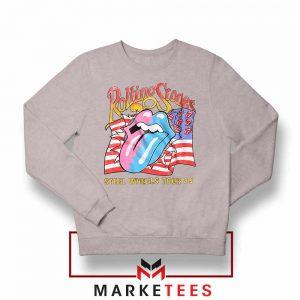 Steel Wheels Rolling Stones Sport Grey Sweatshirt