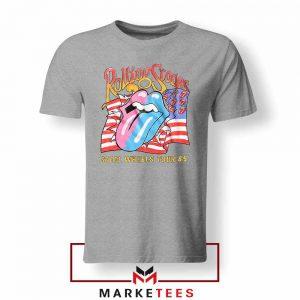 Steel Wheels Tour Rolling Stones Sport Grey Tshirt