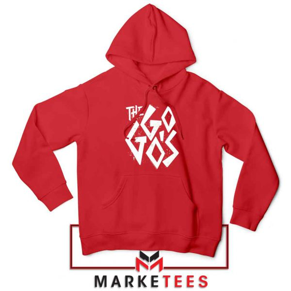 The Go Gos Rock Band American Red Hoodie