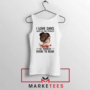 Womens Book Librarian Lover Tank Top