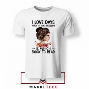 Womens Book Librarian Lover Tshirt