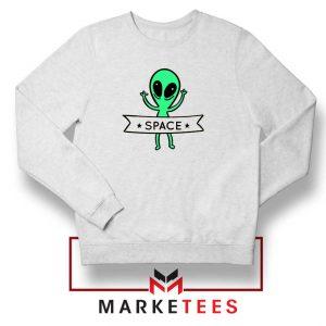 Alien Space 90s Designs Sweater