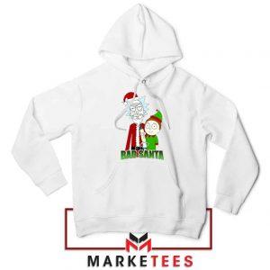 Bad Santa Sitcom Christmas White Hoodie
