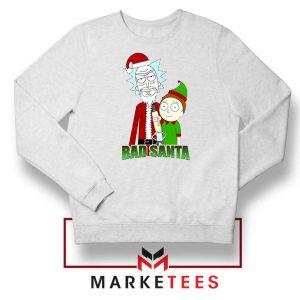 Bad Santa Sitcom Christmas White Sweatshirt
