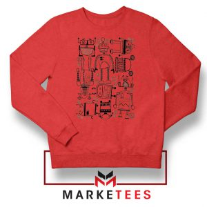 Best Robot Party Designs Red Sweater