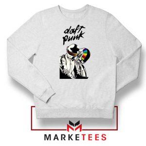Daft Punk Music Duo Graphic Sweatshirt