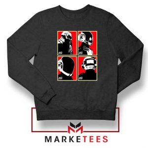 Daft Punk Music Duo Helmets Sweater