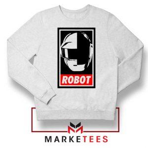 Daft Punk Music Robot Sweatshirt