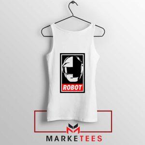 Daft Punk Music Robot Tank Top