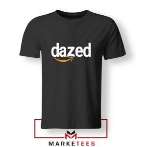 Dazed Smile Logo Black Tshirt