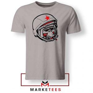 Foot Ball Monkey Sport Sport Grey Tshirt