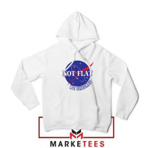 Funny NASA Not Flat Graphic Hoodie