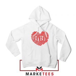 I Love Dad Graphic Hoodie