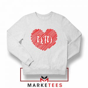 I Love Dad Graphic Sweatshirt