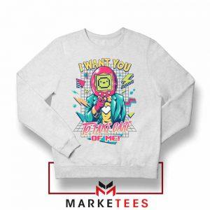 I Want You Tamagotchi Sweatshirt