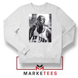 Jay Z New York Designs White Sweatshirt