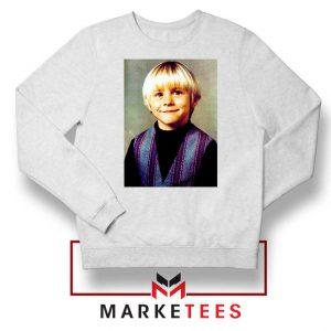 Kurt Cobain Musician Child White Sweatshirt