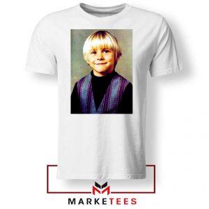 Kurt Cobain Musician Child White Tshirt
