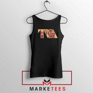 Loki TVA Time Variant Graphic Black Tank Top