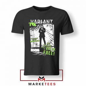 Loki TVA Timeline Marvel Design Tshirt
