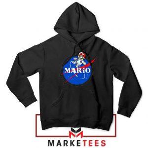 Mario Nasa Logo Graphic Hoodie