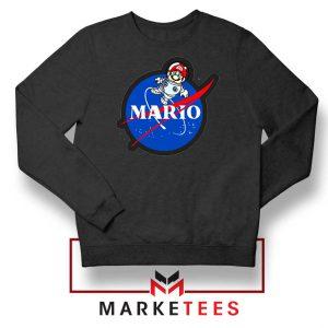Mario Nasa Logo Graphic Sweatshirt
