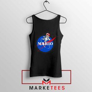Mario Nasa Logo Graphic Tank Top
