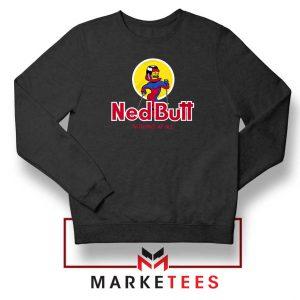 Ned Butt Simpson Parody Sweatshirt