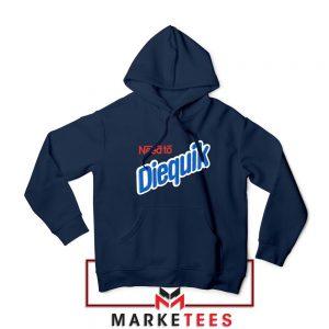 Need to Diequik Parody Navy Blue Hoodie
