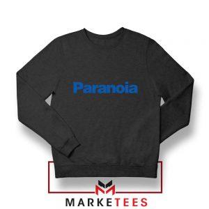Paranoia Japanese Electronics Black Sweatshirt