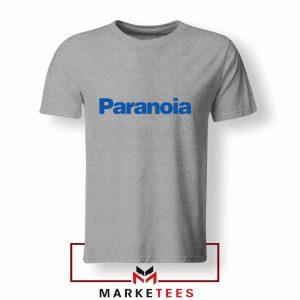 Paranoia Japanese Electronics Sport Grey Tshirt