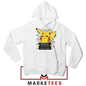 Pikachu Street Brawl Crime Hoodie