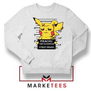 Pikachu Street Brawl Crime Sweater