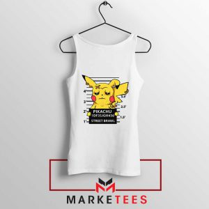 Pikachu Street Brawl Crime Tank Top