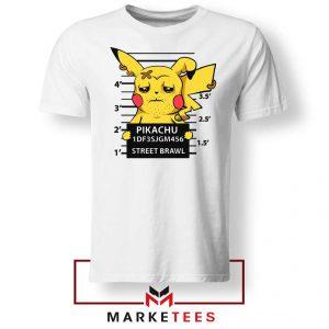 Pikachu Street Brawl Crime Tshirt