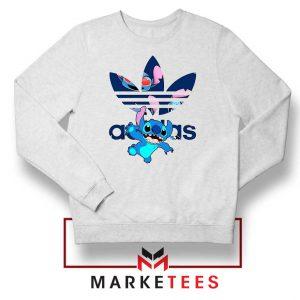 Stitch Character Adidas Parody Sweater