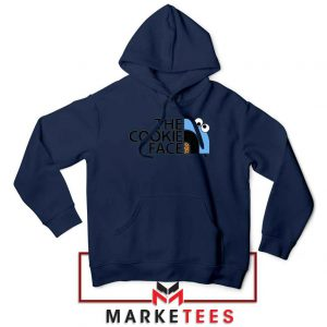 The Cookie Face Designs Navy Blue Hoodie